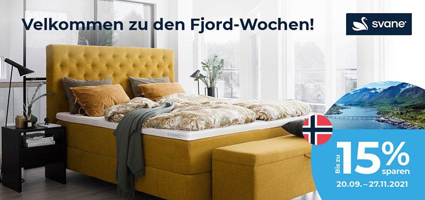 Velkommen zu den Fjord-Wochen!